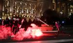 W Belgradzie protestowano przeciwko godzinie policyjnej