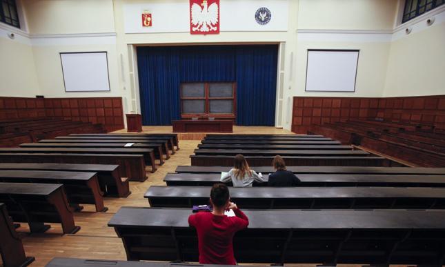 Ukraińcy studiujący w Polsce chcą jechać na Zachód
