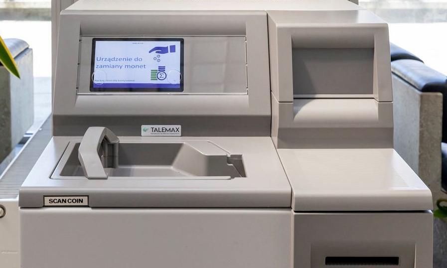 Bilonomaty stanęły w oddziałach Narodowego Banku Polskiego
