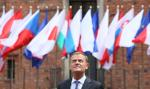 Tusk w Rydze: UE nie walczy z Rosją, broni wolności i demokracji