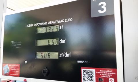 Paliwa znowu podrożały. Tak na stacjach jak i w rafineriach