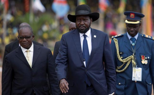 Prezydent Sudanu Południowego Salva Kiir