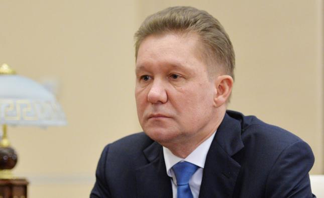 Prezes Gazpromu Aleksiej Miller