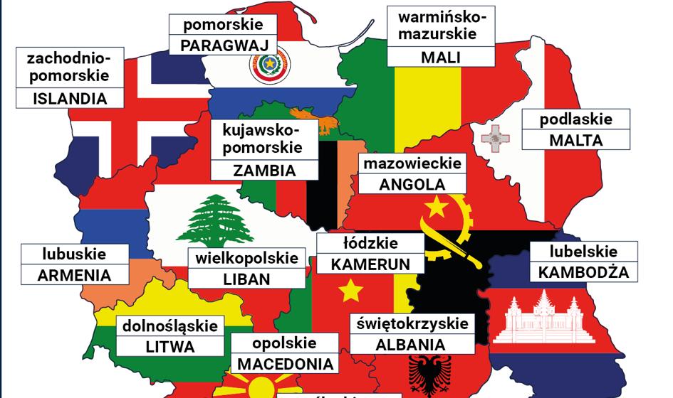 PKB województw jak PKB państw [Mapa]
