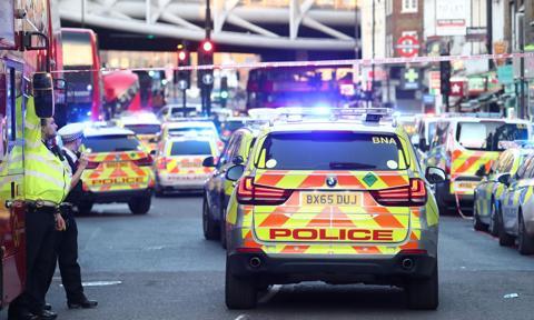 Strzelanina w Londynie. Próba ataku terrorystycznego
