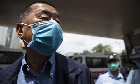 Hongkong: aresztowano magnata medialnego Jimmy'ego Lai