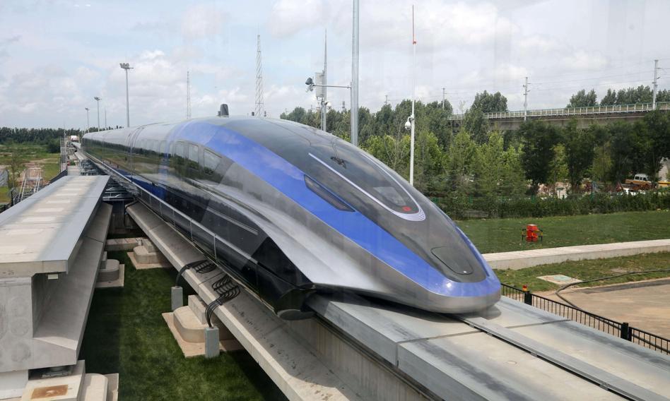 Chiny pokazały najszybszy pociąg świata