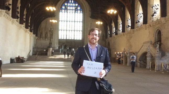 Jakub Krupa - Polak w Wielkiej Brytanii