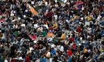 Policja rozpędziła nocną manifestację w Barcelonie