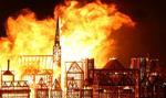 Pożar Londynu – spalono wielką makietę miasta na pamiątkę tragedii z 1666 r.