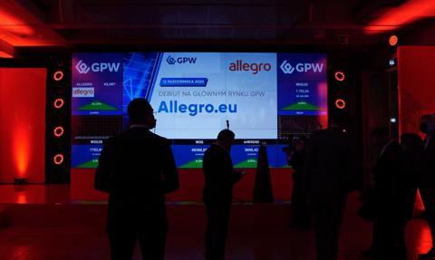 Analitycy: Niski kurs Allegro może być okazją do zakupu akcji