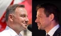Late poll: nadal nie da się wskazać zwycięzcy. Powiększyła się przewaga Andrzeja Dudy