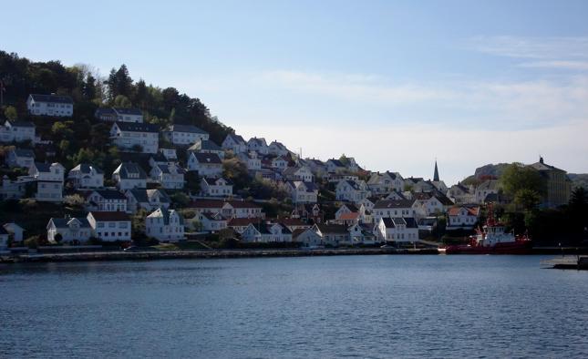 """""""Na trudnym norweskim terenie dominuje zabudowa tarasowa. Domy budowane są na różnych poziomach zbocza tak, by sąsiedzi nie zasłaniali sobie widoku"""""""