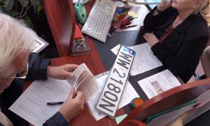 Obowiązkowej wymiany tablic rejestracyjnych nie będzie