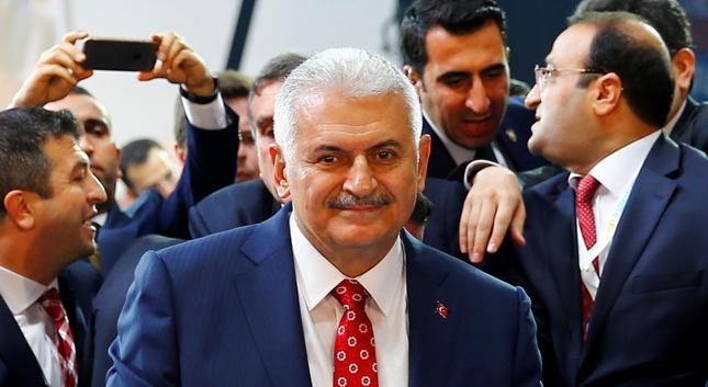 Premier Turcji Binali Yildirim