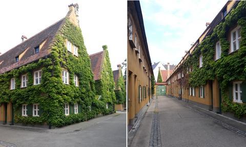 Niemieckie Fuggerei. Mieszkania za mniej niż 1 euro rocznie [FotoStory]