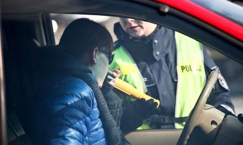 1 maja zatrzymano rekordową liczbę nietrzeźwych kierowców