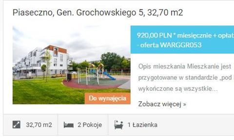Tanie mieszkania na wynajem teraz także pod Warszawą