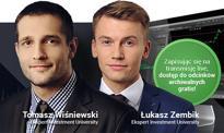 Live trading z Investment University