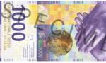 Szwajcaria wprowadzi nowe 1000 franków