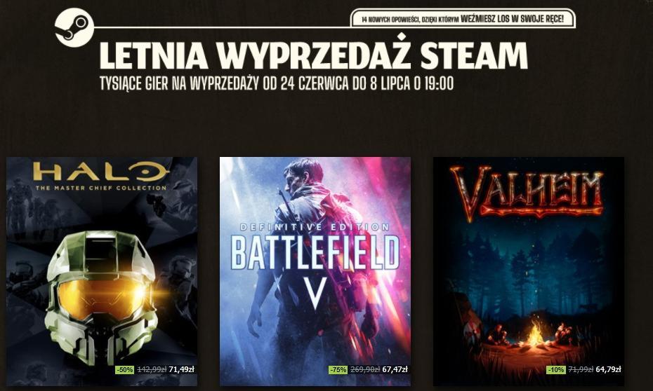 """Rusza letnia wyprzedaż na Steamie. """"Cyberpunk 2077"""" rekordowo tani"""