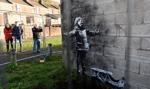Graffiti Banksy'ego sprzedane za kilkaset tysięcy funtów