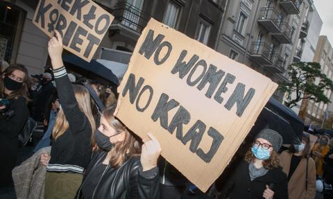 Protesty po orzeczeniu Trybunału Konstytucyjnego ws. aborcji