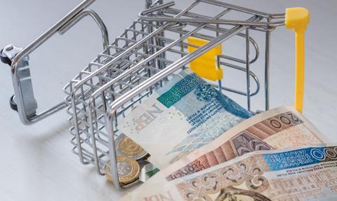 Inflacja w listopadzie na trójkę bez plusa