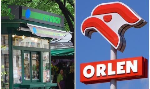 PKN Orlen przejmuje Ruch i zapowiada nowe formaty gastronomiczno-sklepowe i usługi kurierskie