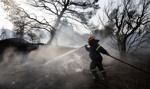 Pożary na północy Aten. Mieszkańcy mają nie wychodzić z domów