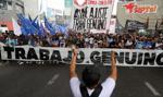 Argentyńczycy tracą cierpliwość i wychodzą na ulice. Domagają się pracy