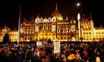 Węgry: protest antyrządowy pod siedzibą radia i telewizji