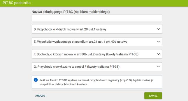Kliknij, aby przejść do wersji online programu do rozliczania PIT-ów