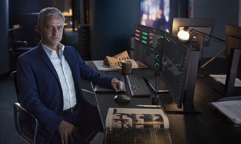 Jose Mourinho reklamuje XTB