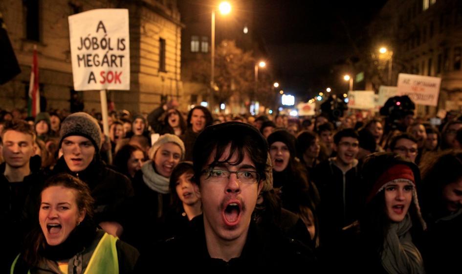 Węgry: kolejna demonstracja na rzecz reformy systemu oświaty