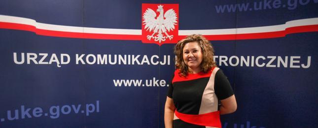 Prezes UKE Magdalena Gaj