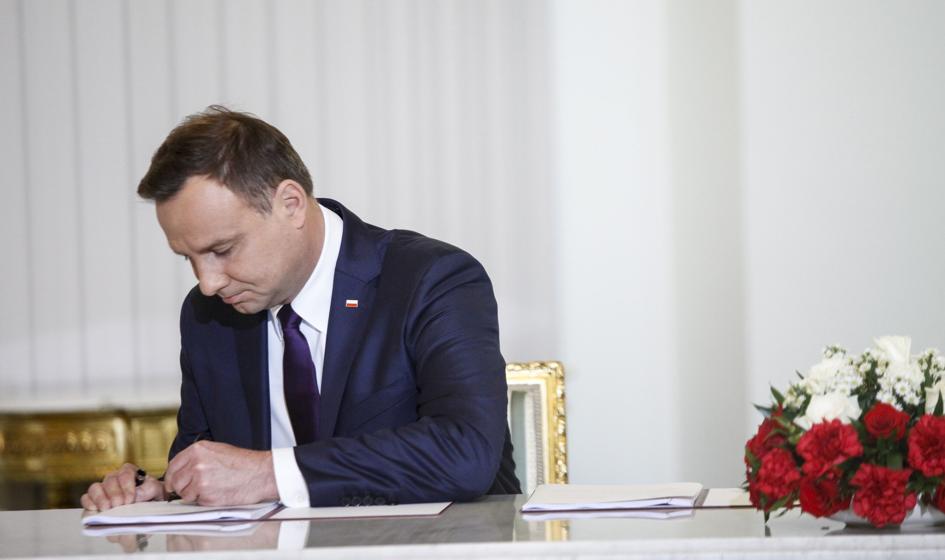 Prezydent podpisał ustawę, która wzmacnia kompetencje ministra gospodarki morskiej