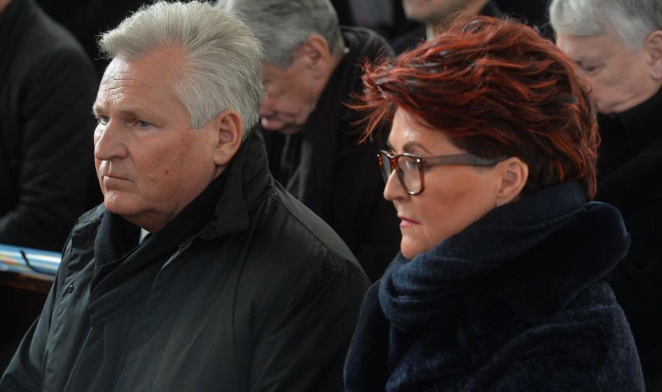 Aleksander i Jolanta Kwaśniewscy zakażeni koronawirusem