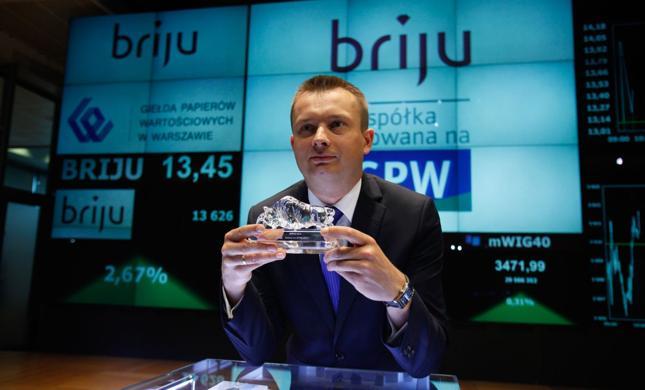 Prezes zarządu Briju Przemysław Piotrowski