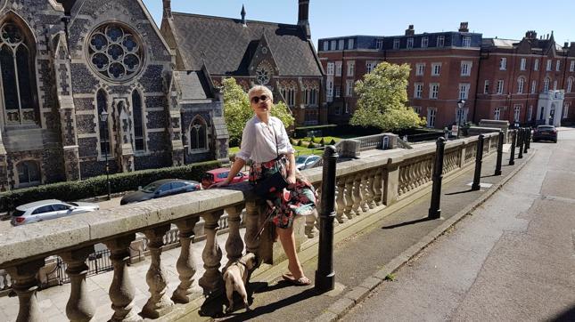 Kinga Gawron spędziła w Londynie sześć lat, pracując w branży nieruchomości