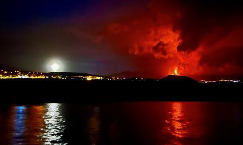 Popiół wulkaniczny z La Palmy dotarł na sąsiednie wyspy