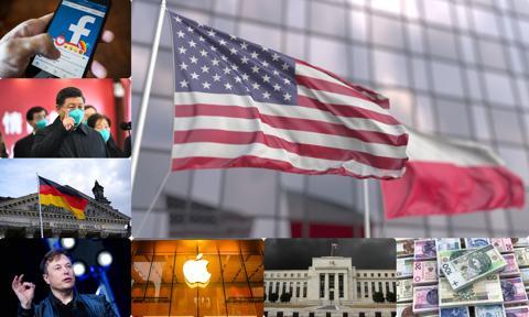 Tym będą żyły rynki: PKB Polski i USA, wyniki gigantów, wirtualne Davos