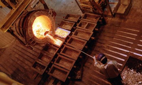 Sprzedaż miedzi KGHM w grudniu wyniosła 75,8 tys. ton