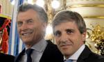 Argentyna: Caputo odchodzi, peso w dół