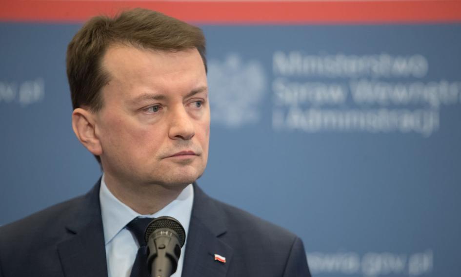 Szef MSWiA przedstawił wart 9,1 mld zł program modernizacji służb