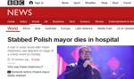 Zagraniczne media i politycy o śmierci Pawła Adamowicza