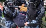 Zatrzymania podczas demonstracji w Moskwie