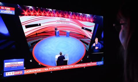 Debata prezydencka. Duda odpowiadał na pytania mieszkańców Końskich