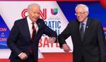 Debata Demokratów: Biden i Sanders oddaleni na niemal 2 metry