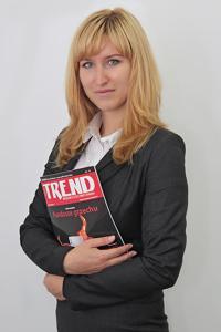 Dorota Sierakowska - redaktor naczelna miesięcznika Trend